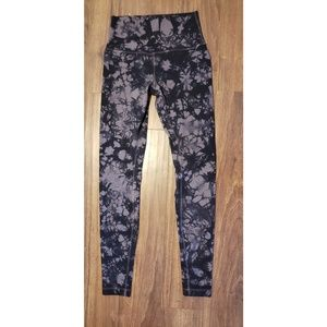 Lululemon marble leggings